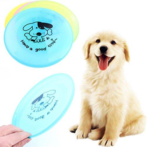 artistic9(TM) Pet Hunde Frisbee Flying Disc Fetch Spielzeug für Outdoor Groß Hund (Hund - Zahn Behandlung Von)