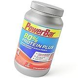 PowerBar Casein Whey Protein-Pulver – Protein Plus 80% – Eiweißpulver ohne Farbstoffe und Aspartam – Protein Shake – 700g Erdbeere