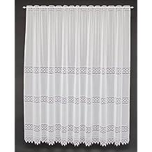 Cortinas cortas para ventanas for Cortinas cortas para salon