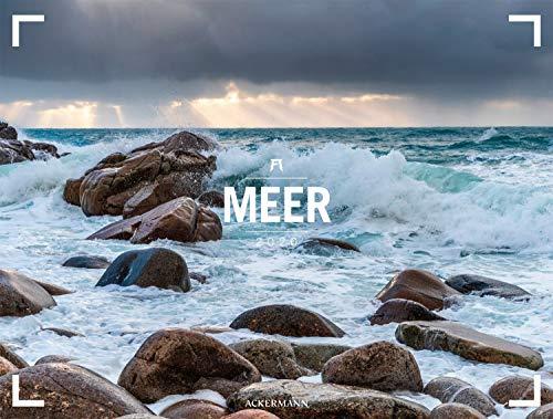 Meer - Ackermann Gallery 2020, Wandkalender im Querformat (66x50 cm) - Großformat-Kalender / Hochwertiger Panorama-Kalender Küste und Strand - Partnerlink