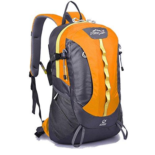 ROBAG Outdoor-Bergsteigen Sporttasche Rucksack lässig Rucksack 28 l orange