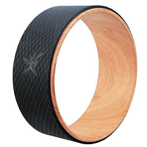 IVIM Yoga-Wheel, Hochwertiges und Praktisches Yoga Rad, Effektives Hilfsmittel bei Steigerung der Balance, Verbesserung der Körperhaltungund Erhöhung des Spaß