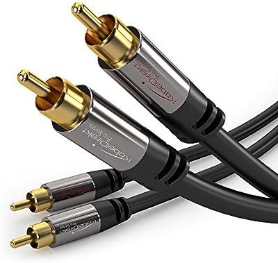 KabelDirekt PRO Series - Cable RCA 2 RCA > 2 RCA