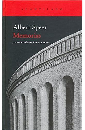 Memorias De Albert Speer