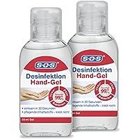 SOS Desinfektion Hand-Gel 50 ml (2er Pack) preisvergleich bei billige-tabletten.eu