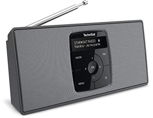 Oferta de TechniSat DIGITRADIO 2 S - Radio Estéreo Dab Portátil con Batería (Dab+, FM, Transmisión de Audio por Bluetooth, Pantalla OLED, Coneción para Auriculares, Estéreo 2 Vatios RMS) Negro/Plateado