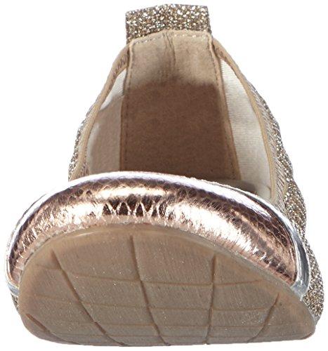 Tamaris - 22111, Ballerines Argentées Pour Dames (silber (plat.glam Comb 918))