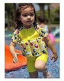 Vine Kinder Bojen-Badeanzug Bademode Schwimmhilfe mit Schwimmflügel und Schwimmen Kappe Schwimmen Trainer, 2-5 Jahre alt