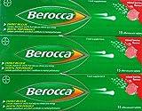 Berocca Performance 6x 15Beeren Geschmack Brausetabletten Vitamin B C Calcium Magnesium & Zink Gratislieferung