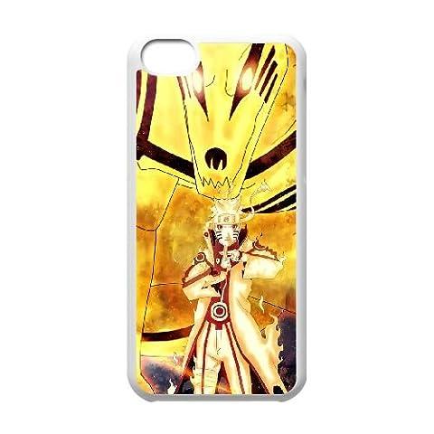 Naruto Shippuden Uzumaki Naruto Kyuubi 129 coque iPhone 5c cellulaire