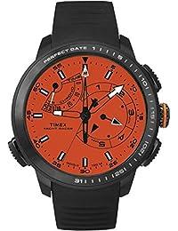 TIMEX Reloj de cuarzo Man Intelligent Yacht racer Pro Negro 47 mm