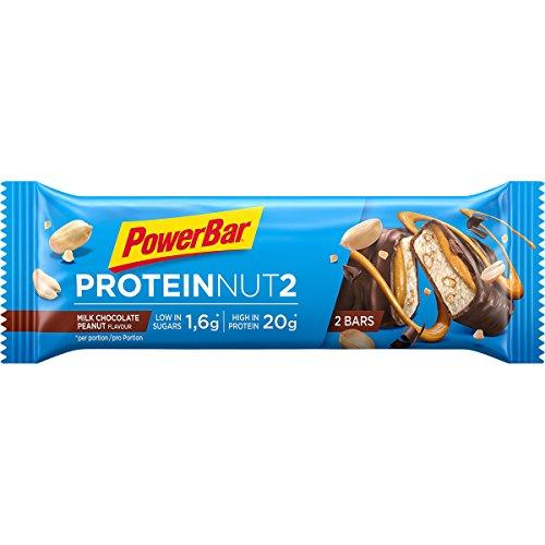 PowerBar Protein Nut2 Milk Chocolate Peanut Probiergröße, 60 g -
