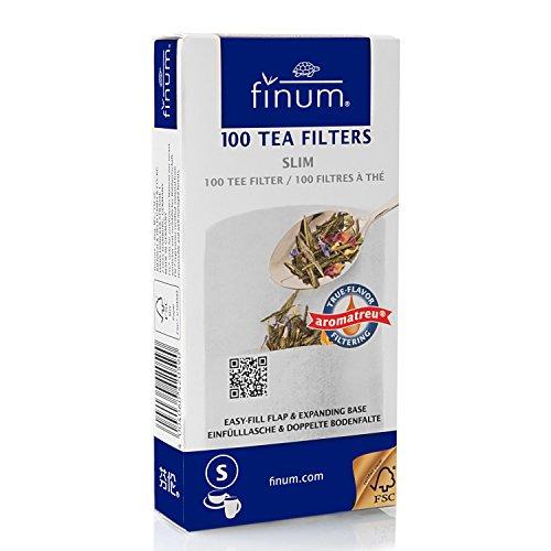 Finum 100 Papierteefilter Größe S Finum Tea Brewing Basket