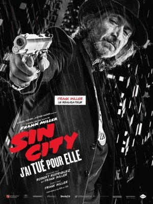 SIN CITY : A DAME TO KILL FOR – Frank Miller – French Imported Movie Wall Poster Print - 30CM X 43CM (Dame Für Dvd Kill To Sin City)