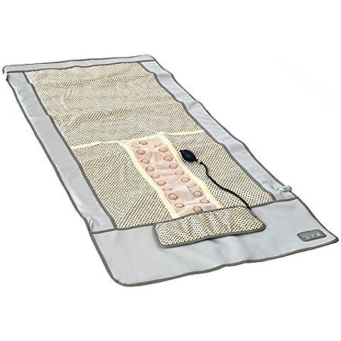 Elitzia lontano fisioterapia a infrarossi massaggio rilievo di riscaldamento coperta pad posteriore di cura riscaldamento massaggio