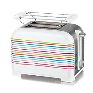 TV - Unser Original 05699 Gourmet Maxx Toaster Streifendekor