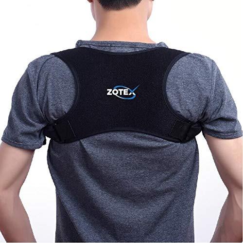 Zotex Geradehalter zur Haltungskorrektur – ergonomischer Rückentrainer für eine aufrechte Körperhaltung und zur Vorbeugung von Rückenproblemen – Größenverstellbarer Geradehalter für Damen und Herren