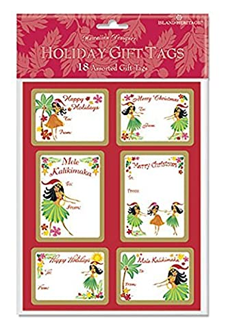 Holiday Labels ISLAND HULA HONEY by Welcome to the Islands