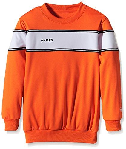 Jako Sweatshirt Player Orange/Weiß