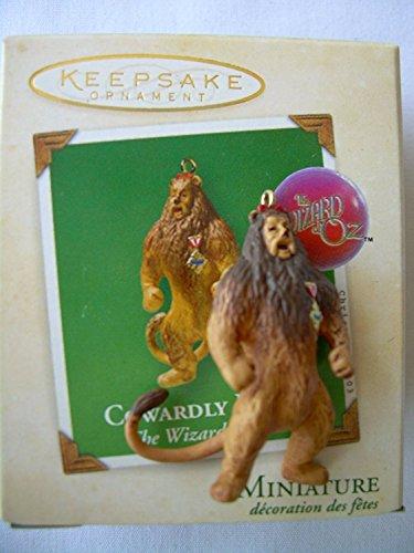 Hallmark Deko-Ornament-Feige Löwe aus Der Zauberer von Oz (Miniatur QXM4219 (2003))