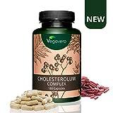 RISO ROSSO Vegavero | con 10 mg di Monacolina K | 180 capsule | con...