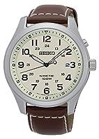 Seiko Reloj Analógico de Cuarzo para Hombre con Correa de Cuero – SKA723P1 de Seiko
