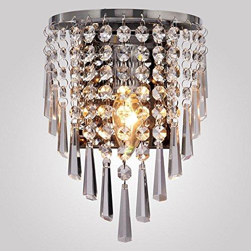 Pendelleuchte AC220V 1 * E14 Europäischen Kristall penadnt lampe/Kristall spiegel scheinwerfer/wandleuchte/zelle licht, 170 * 160 (mm) (Mosaik-wandleuchte Licht)