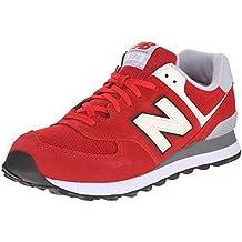 NEW Balance ml574 NEC Classic Sneaker Scarpe Unisex Rosso ml574nec