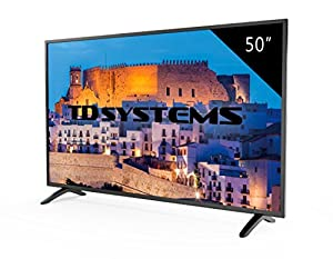 TV 50 Pouces HD LED TD Systems K50DLM8F. Téléviseur Full HD, 3x HDMI, VGA, USB Lecteur et enregistreur
