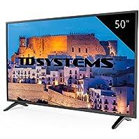 Televisores Led 50 Pulgadas Full HD TD Systems K50DLM8F. Resolución 1920 x 1080, 3x HDMI, VGA, USB Reproductor y Grabador.