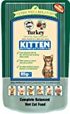 James Wellbeloved Kitten Food Turkey Pouch 12 x 85 g