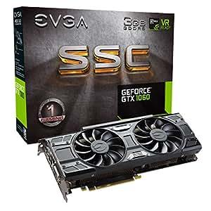 EVGA GeForce GTX 1060 - Scheda video, 3GB SSC, per gaming, ACX 3.0, GDDR5, LED Nero 3 GB