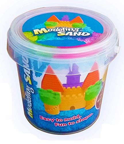 SKYFUN (LABEL) Magic Kinetic Active Funny Squeeze Sand Clay with Molded Toys for Kids (1 Kilograms)