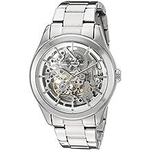 Kenneth Cole Damen-Armbanduhr 32mm Armband Edelstahl + Gehäuse Automatik Zifferblatt Silber 10025560