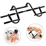 ROVATE® Klimmzugstange Oberkörpertrainer,Trainings Gerät für Türrahmen bis 120 kg belastbar