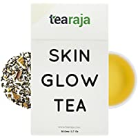TeaRaja Skin Glow Herbal Tea Skin Cleansing Detox Tea, 50 GMS Makes 25 Cups