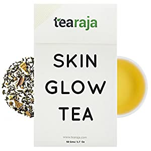 Skin-Glow-Tea-Skin-Cleansing-Detox-Tea-Look-Beautiful-Feel-Beautiful-Healthy-Cleanse-AIDS-Weight-Loss-Inspired-by-Ancient-Ayurveda-100-Natural-Ingredients
