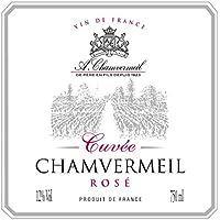 Cuvée Chamvermeil Rosé 12° - Vin De France - Bib De 10 Litres
