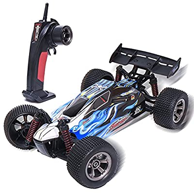 ESGOT ES-V17 RC Car 2.4GHz 1:12 Scale High Speed Vehicle Radio Remote Control Off-Road Truck Blue