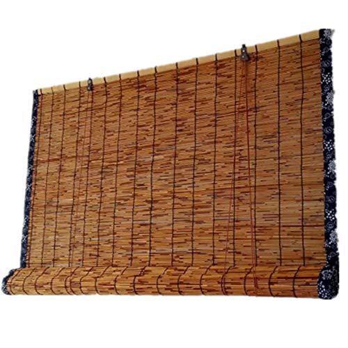 Sonnenschirm, dekorative Stroh Vorhang, Bambus Vorhang/Rollo, Reed Vorhang (größe kann angepasst Werden) atmungsaktiv/Sonnencreme/wasserdicht