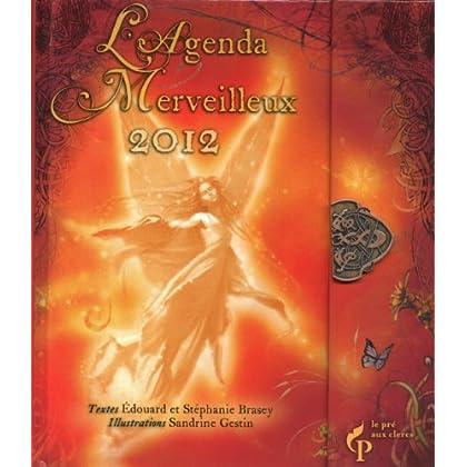 Agenda merveilleux 2012