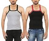 Wyatt Men's Multicolor Gym Vest (Pack of...