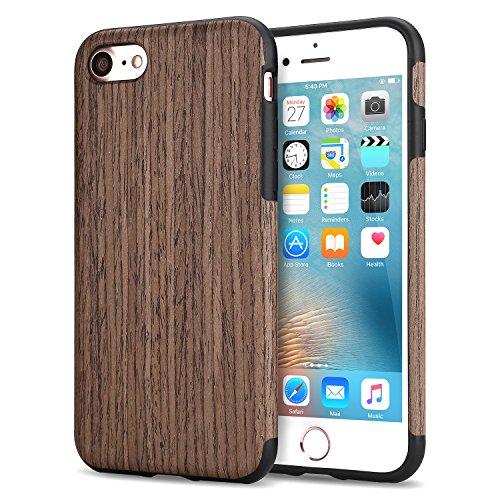 tendlin-funda-iphone-7-grano-de-madera-silicona-tpu-hibrido-suave-carcasa-rosa-negro