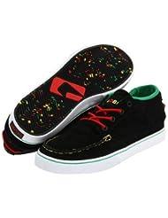 Globe Skateboard Schuhe The Bender Black Rasta - Sneaker Skate Shoes