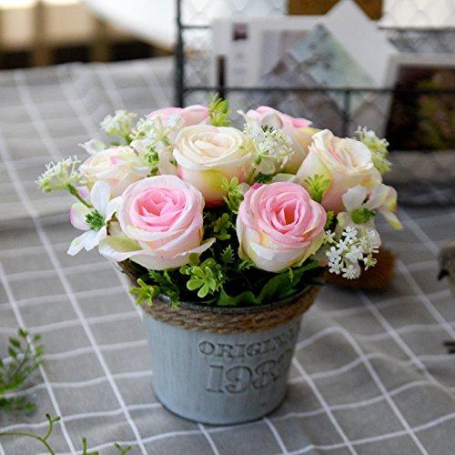 Valentinstag Ideales Geschenk FüR Alle Gelegenheiten Blumenstrauß Mit 5 Roten Rosen In Weißem Herz Intelligent Farbtraum