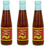 Royal Thai - Süße Chilisauce - 3er Pack (3 x 275ml) - Original Thai