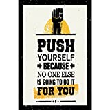 #7: Posters   Poster for room   Inspiring design collection   quotes and messages posters   posters for boys and girls  Wall decals for home and office   poster for study room   gym poster   motivational messages funny funky cool captions and sayings on your door or wall   Design 001