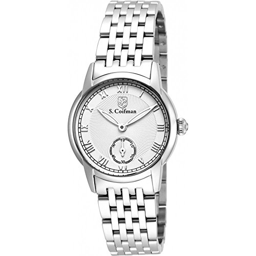 S Coifman SC0347 Ladies Silver Steel Bracelet Watch