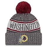 New Era NFL Washington Redskins 2018 Sideline Graphite Sport Knit