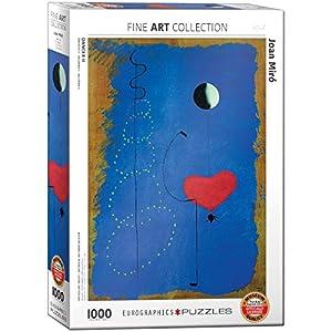 "Eurographics ""Joan Miró Bailarina II Puzzle (1000 Piezas"